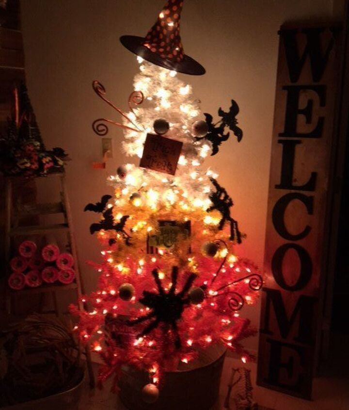 trick or treat tree