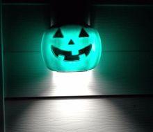 diy pumpkin pail light covers