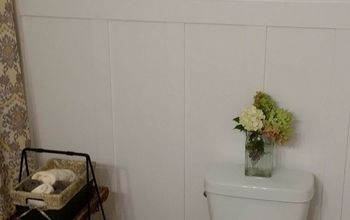 Guest Bathroom Makeover With Hand-Crafted Vanity