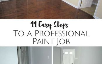 11 steps to a professional paint job