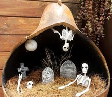 a not so scary miniature graveyard