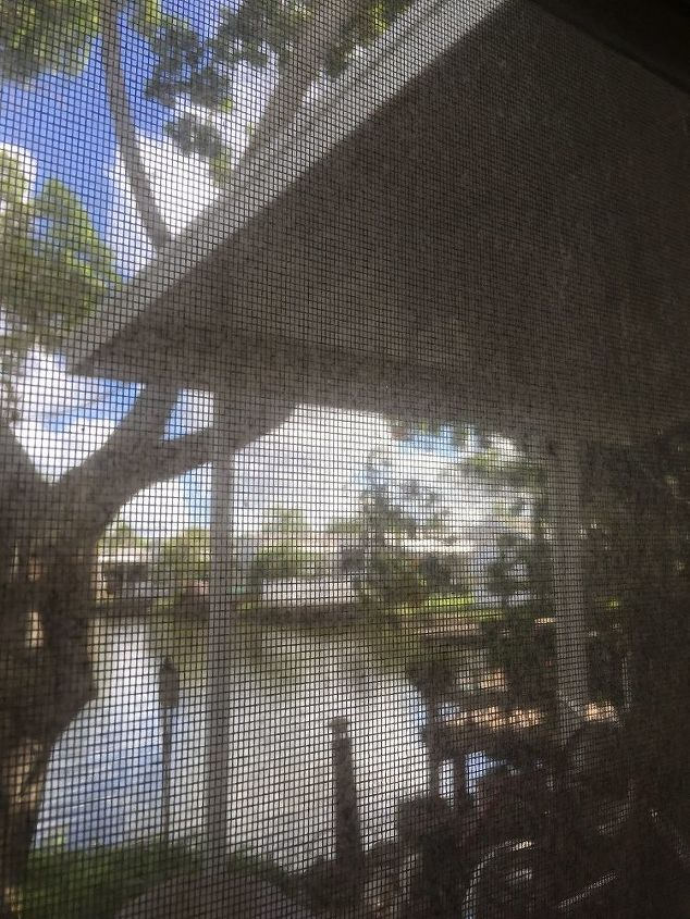 q what is the best diy way to clean lanai windows this is part of a