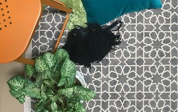 Roll It Out! How to Stencil a Custom DIY Area Rug
