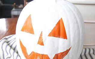 easy reverse painted pumpkins