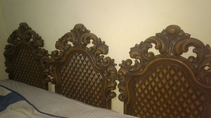 q how to paint a plastic headboard