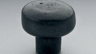 , rustic black knob
