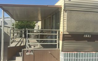 Makeover of a mobile home photo heavy post hometalk - Mobel used look ...