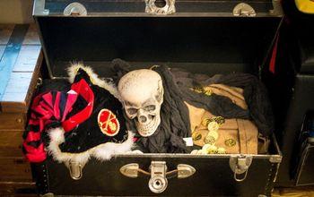 diy pirate halloween decor