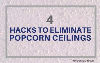 How to Remove Popcorn Ceilings Quickly and Easily