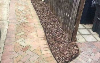 keep that mulch off your driveway with a clean crisp edge