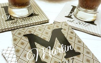DIY Personalized Coasters