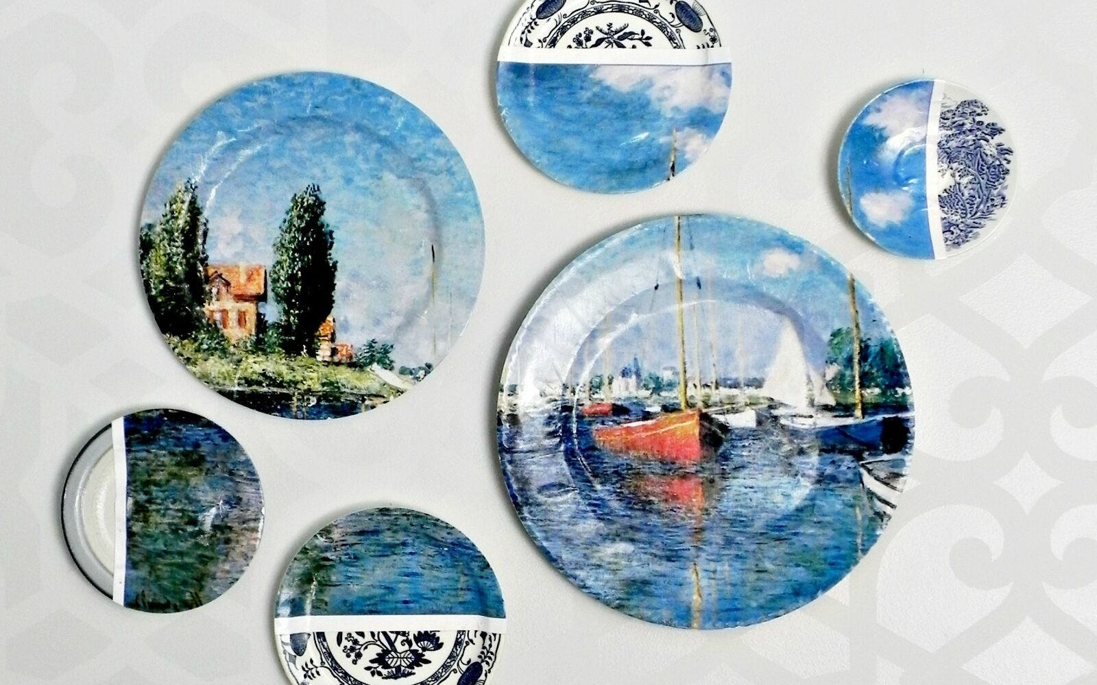 s don t overlook these 13 common garage sale finds, Single mismatched plates