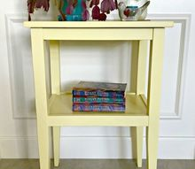build a pretty diy side table for less than 20 win