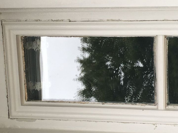q clean caulk on window outside