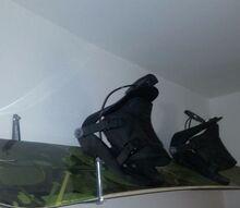 diy snowboard wall mount