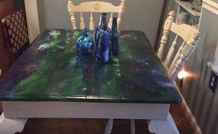 giving the kitchen table a face lift