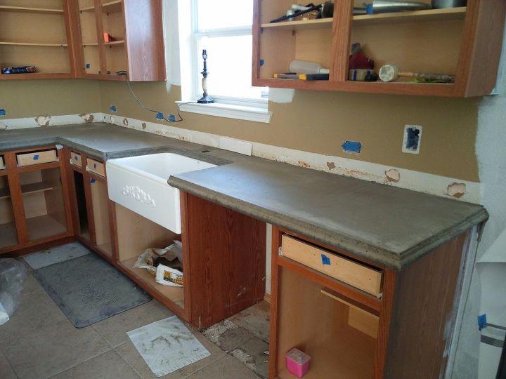 Concrete Countertops Hometalk