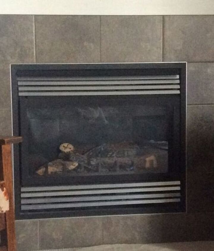 q how can i change the look of my fireplace to vintage