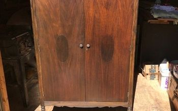 Refinished Antique Wardrobe