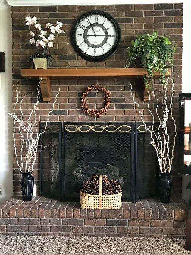 q i need help on updating this fire place