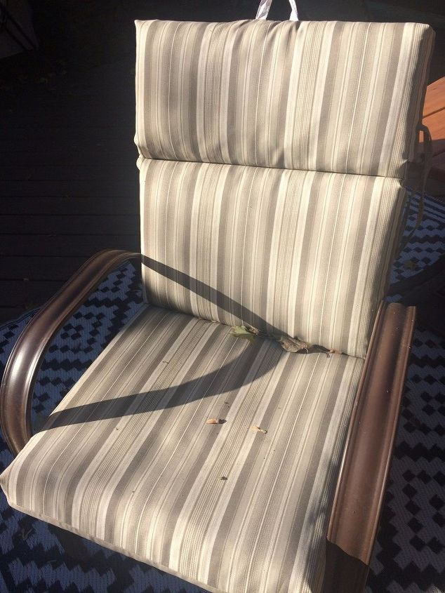 Dirty Patio Chairs
