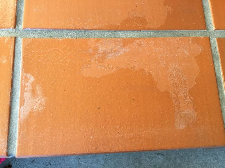 q how to clean terra cotta like tile