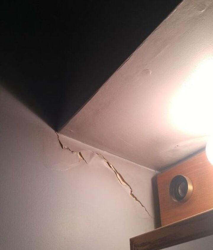 q how to fix a shower room wall after a leak