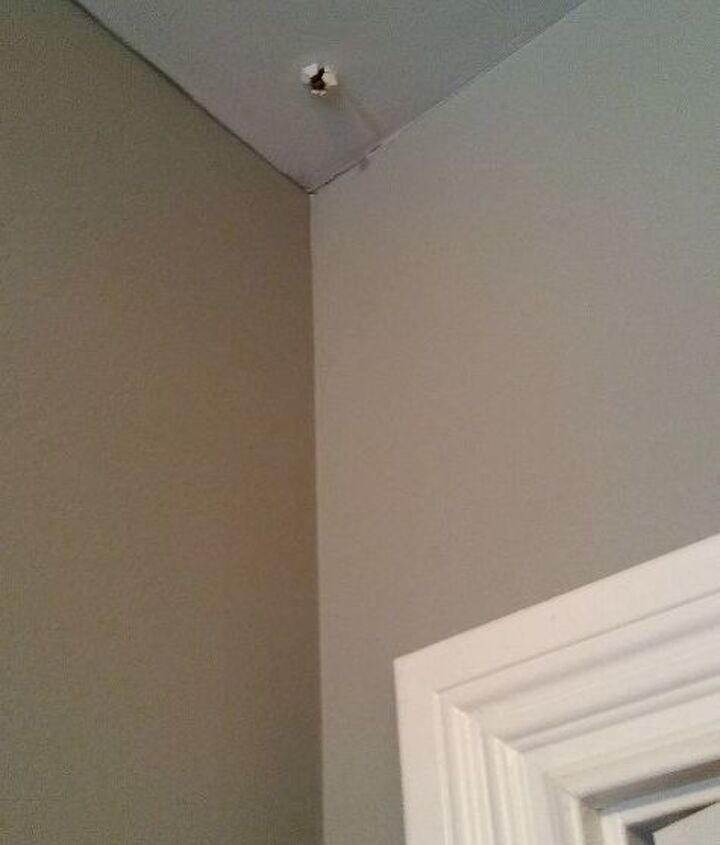 q nail pops on a new house ceiling and walls the best way to have them