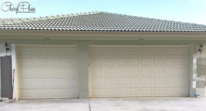 how to paint a rusty garage door