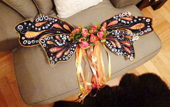 Easy NO-SEW Butterfly Family Costume