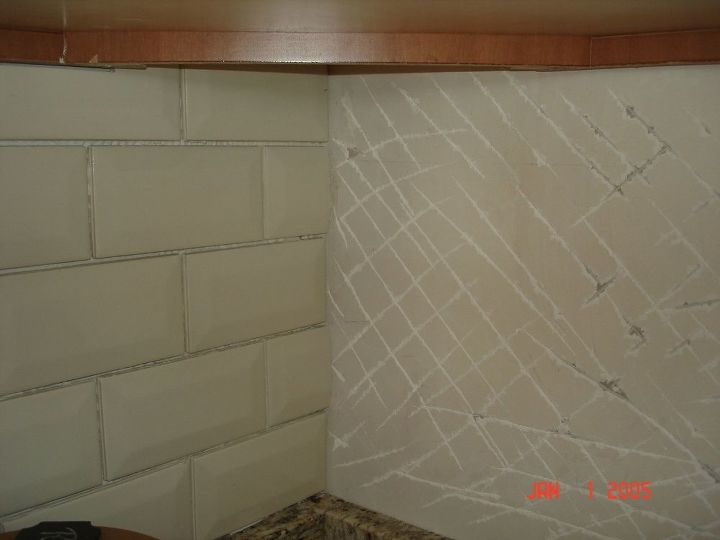 q anyone work with beveled subway tile