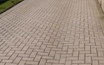 How To Make A Weed-Free Brick Driveway (That Stays That Way!)