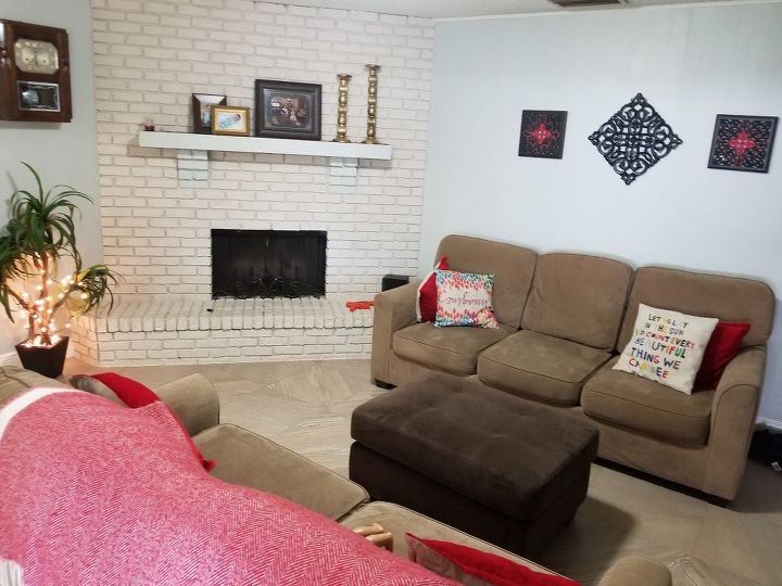q i have a corner fire place i tried everything so my living room cozy