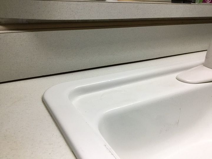 q how to raise sagging counter tops