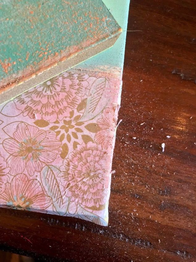 Shabby Chic Frame - Using Tissue Paper! | Hometalk
