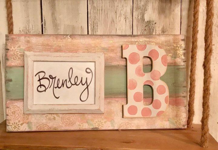 Shabby Chic Frame - Using Tissue Paper! | Hometalk