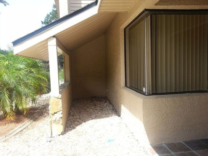 Front entrance patio | Hometalk