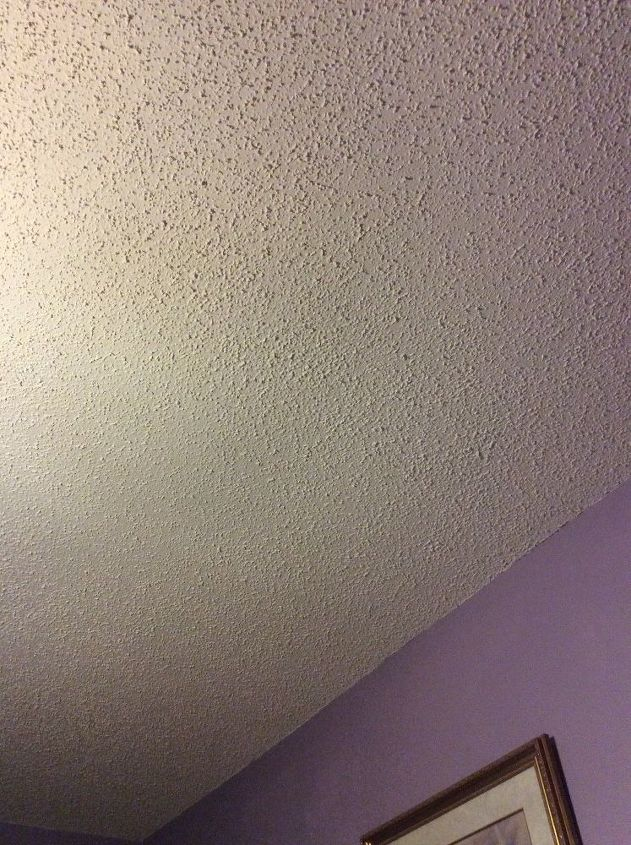 Best Way To Remove A Popcorn Ceiling Hometalk