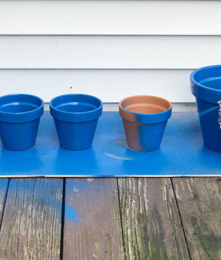 s 3 absolutely adorable ways to display your plants, Step 1 Paint your pots