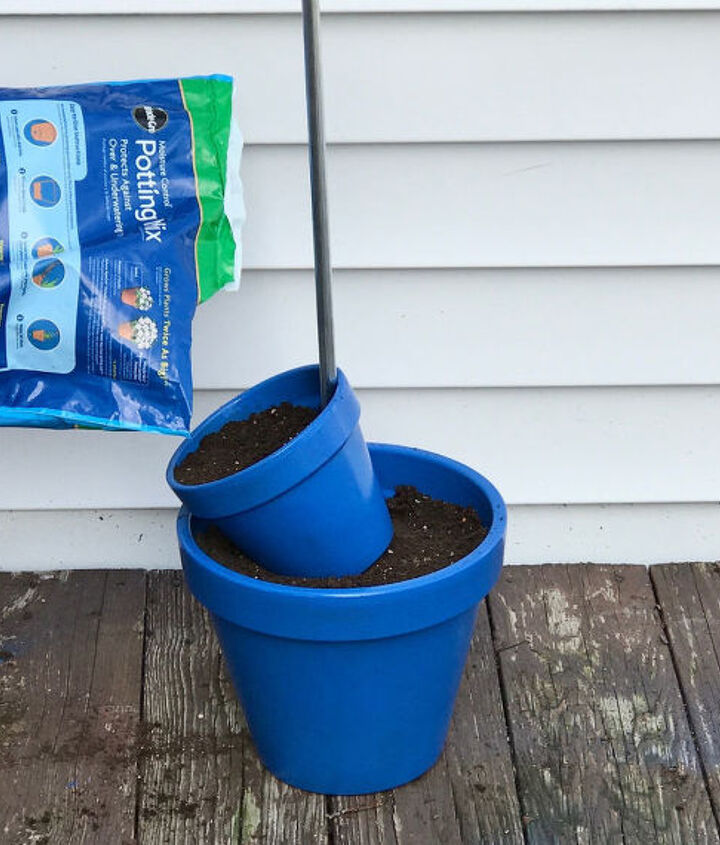 s 3 absolutely adorable ways to display your plants, Step 4 Fill your second pot