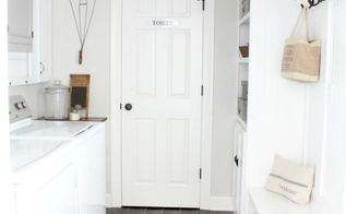 vintage inspired laundry room