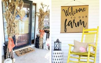 My Fall Front Porch With Farmhouse Style