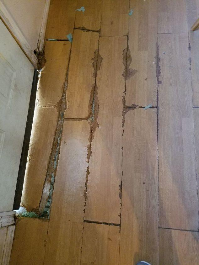 q how do i fix the floor