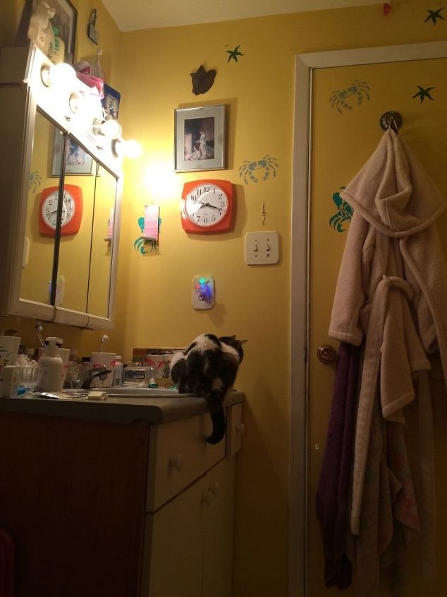 q i have a very boring bathroom