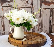 can t find a wine barrel tray make your own