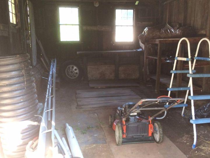 q cesspool cover in garage