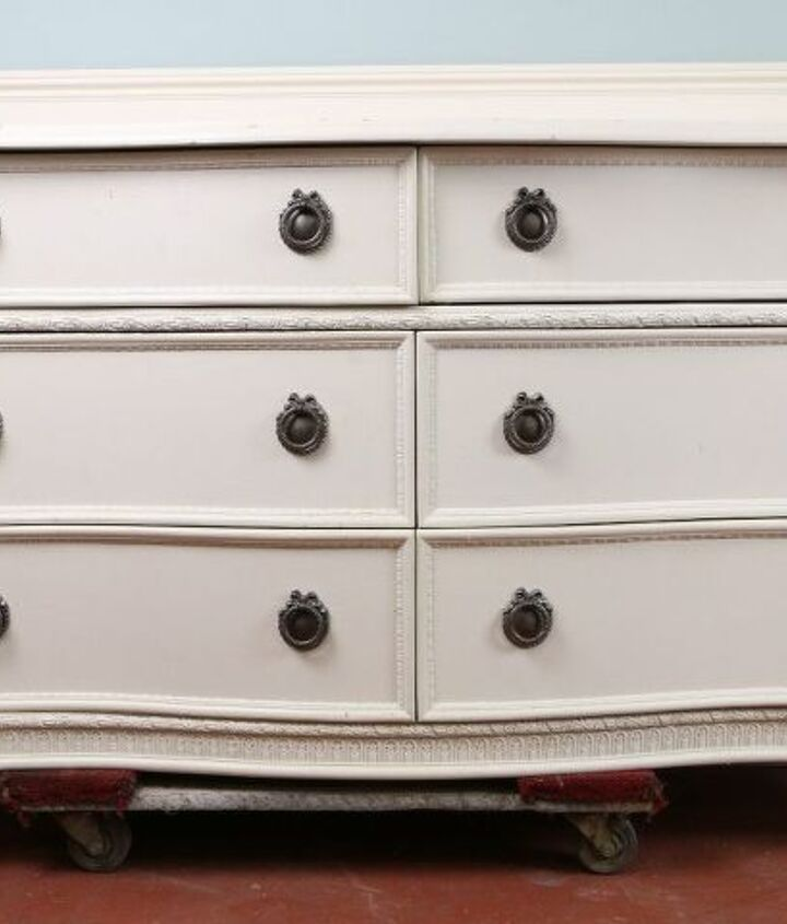 stencils can makeover your craigslist furniture find