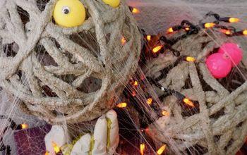 How to Make Concrete Mummies for Halloween