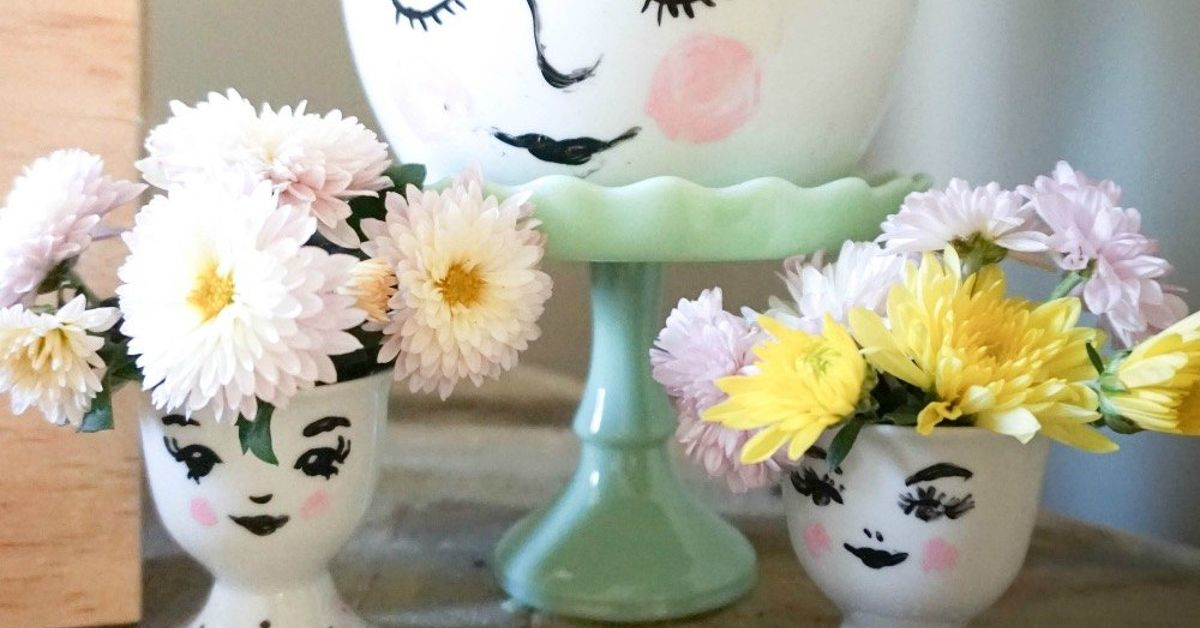 How To Paint A Glass Vase Hometalk