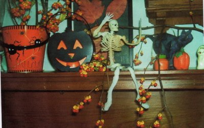 q anyone want to share their halloween decorations